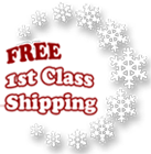 Free First Class Shipping